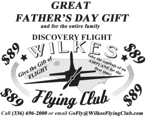 WFC Fathers Day Discovery Flight